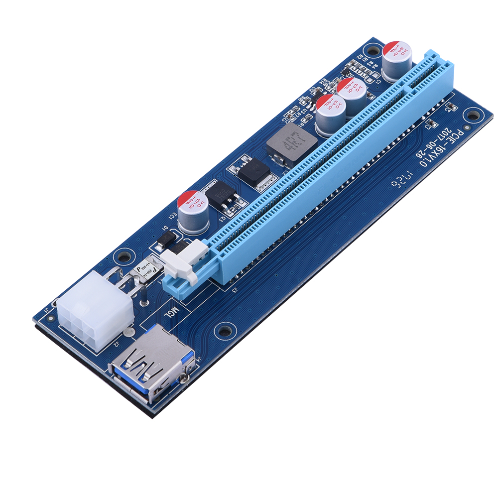 PCI -E 1x to 16x(PCI-E Riser card)